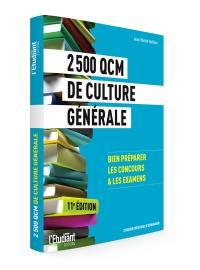 2.500 QCM de culture générale