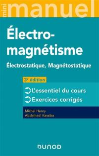 Mini-manuel d'électromagnétisme