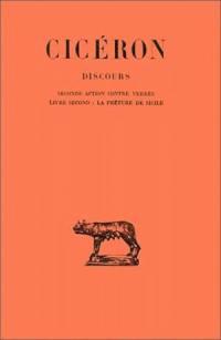 Discours. Volume 3, Seconde action contre Verrès