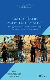 Geste créatif, activité formative