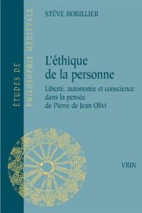 L'éthique de Pierre de Jean Olivi
