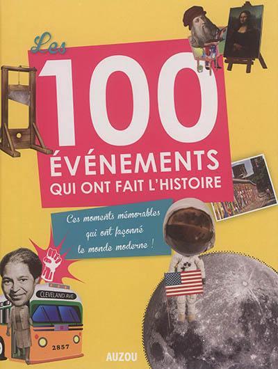 Les 100 événements qui ont fait l'histoire : ces moments mémorables qui ont façonné le monde moderne !