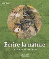 Ecrire la nature