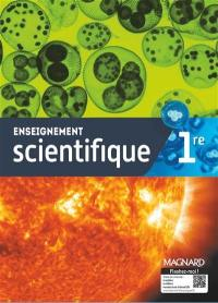 Enseignement scientifique 1re : manuel élève
