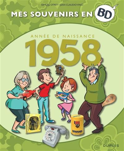 Mes souvenirs en BD. Volume 19, Année de naissance