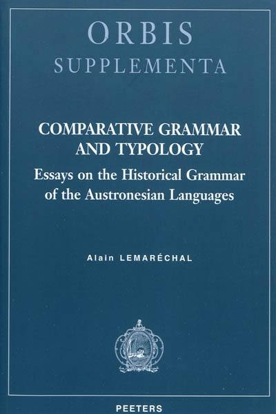 Comparative grammar and typology