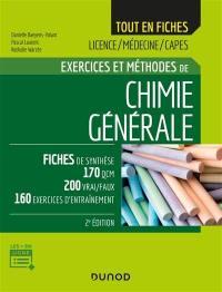 Exercices et méthodes de chimie générale