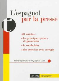 L'espagnol par la presse
