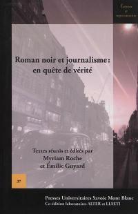 Roman noir et journalisme