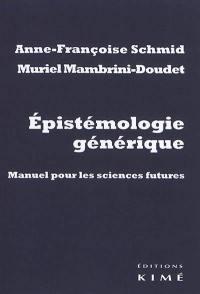 Epistémologie générique