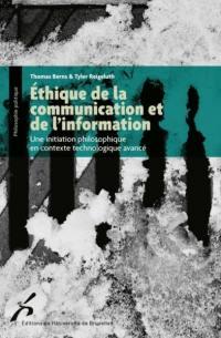 Ethique de la communication et de l'information
