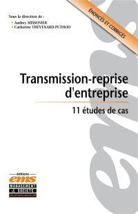Transmission-reprise d'entreprise