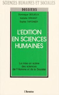 L'Edition en sciences humaines