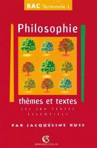 Philosophie, série L
