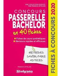 Concours Passerelle Bachelor en 40 fiches