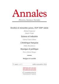 Annales. n° 3 (2018),