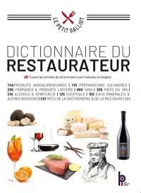 Dictionnaire du restaurateur