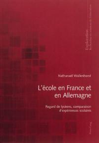 L'école en France et en Allemagne