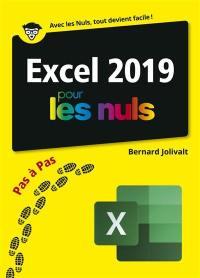 Excel 2019 pas à pas pour les nuls