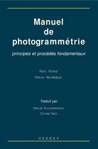 Manuel de photogrammétrie