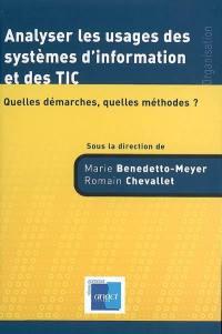 Analyser les usages des systèmes d'information et des TIC