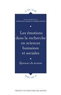 Les émotions dans la recherche en sciences humaines et sociales