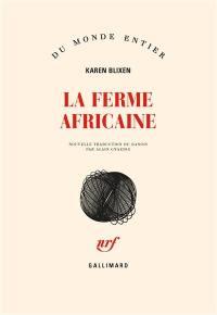 La ferme africaine