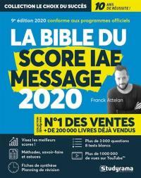 La bible du Score IAE-Message