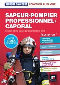 Sapeur-pompier professionnel-caporal
