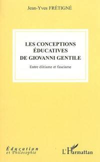 Les conceptions éducatives de Giovanni Gentile