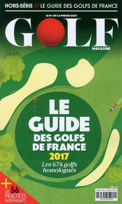 Le guide des golfs de France