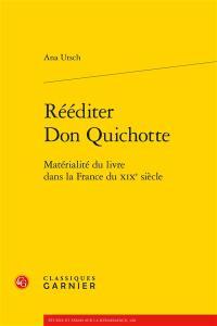 Rééditer Don Quichotte