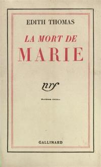 La mort de Marie