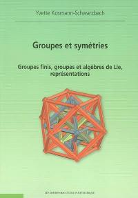 Groupes et symétries