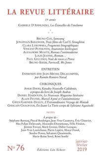 Revue littéraire (La). n° 76,