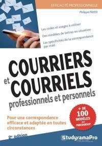 Courriers et courriels professionnels et personnels