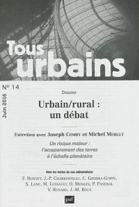 Tous urbains. n° 14, Urbain-rural
