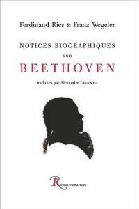 Notices biographiques sur Beethoven