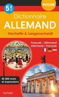 Dictionnaire poche allemand Hachette & Langenscheidt