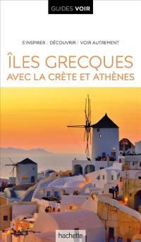 Iles grecques, avec la Crète et Athènes