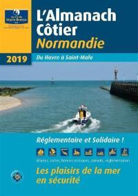 L'almanach côtier Normandie 2019