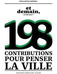 198 contributions pour penser la ville