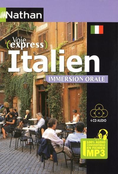 Italien : pack 100 % audio