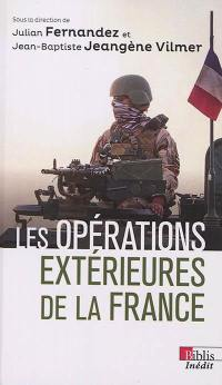 Les opérations extérieures de la France