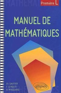 Manuel de mathématiques pour première L