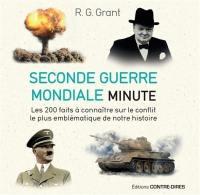 Seconde Guerre mondiale minute