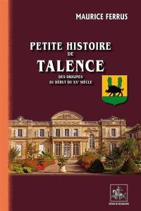 Petite histoire de Talence