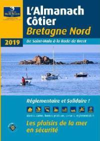 L'almanach côtier Bretagne Nord 2019