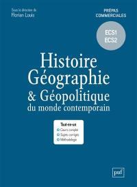 Histoire, géographie & géopolitique du monde contemporain