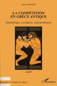 La compétition en Grèce antique
